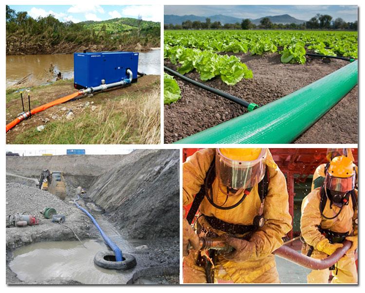 PVC-layflat-hose-application