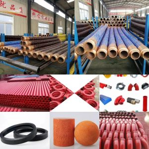concrete pump hose, concrete pump pipe, rubber industrial hose
