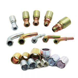 hydraulic-hose fitting